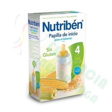 NUTRIBEN INICIO BIBERON PAPILLA SIN GLUTEN 300 G
